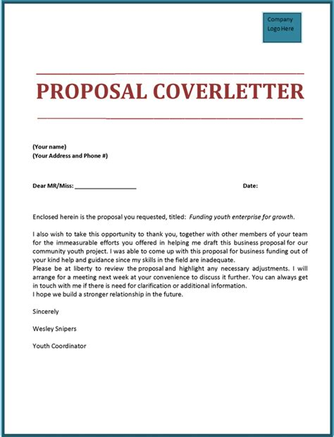 technical proposal cover letter sle cover letter