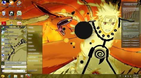 download themes naruto untuk windows 7 naruto theme for window 7