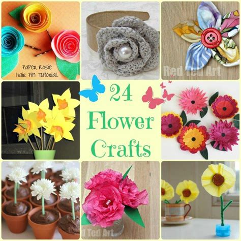 flower craft ideas for flower crafts ideas ted s