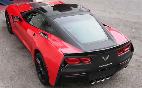 corvette stingray matte black or not matte black tailed c7 corvette stingray