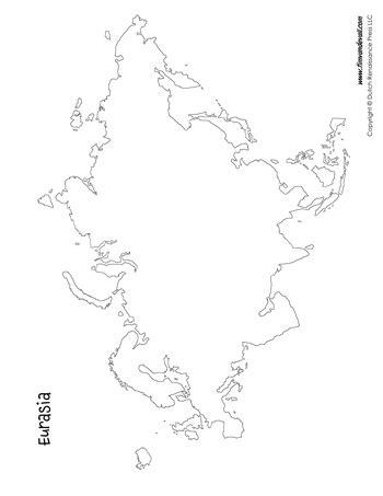 eurasia coloring page eurasia map tim s printables