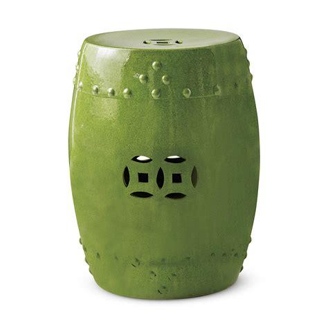 green garden stool lime green garden stool gump s