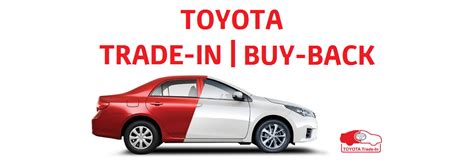 Toyota Buyback Toyota Retailers Buy Back Trade In