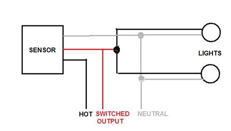 motion activated light wiring diagram 2 and a