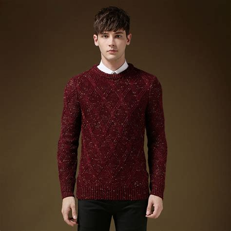 knitting patterns winter sweaters winter sweater men brand casual design mens british style