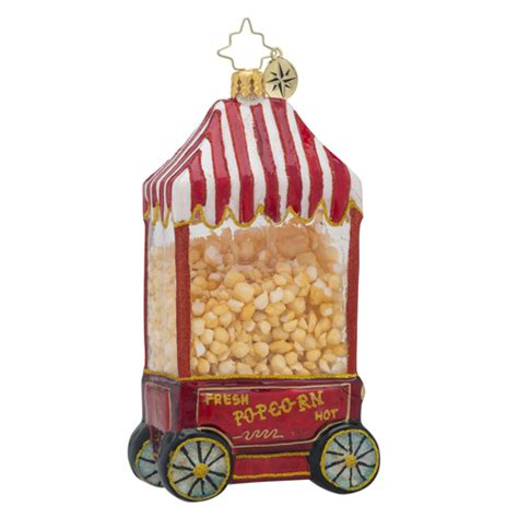 christopher radko ornaments radko hot pop popcorn