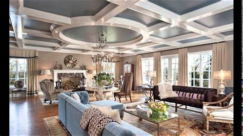 Ceiling Ls For Living Room - 15 living rooms with coffered ceiling designs