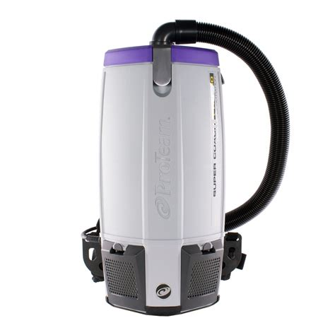 proteam coach pro 10 backpack vacuum 107306 with 1 5 inch surface floor attachment