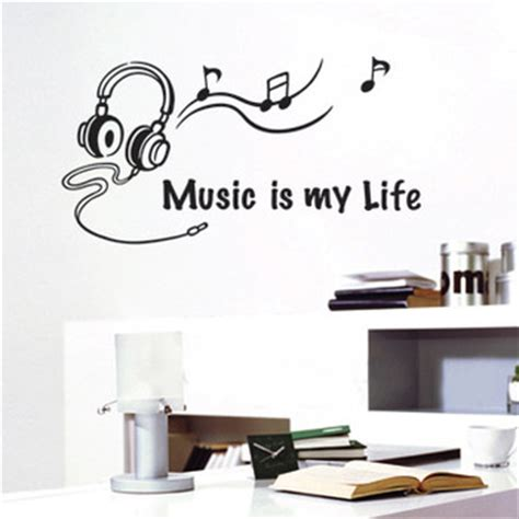 music bedroom wallpaper cheap wall quotes find wall quotes deals on line at