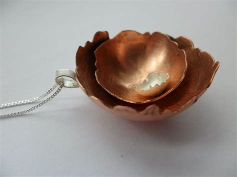 Handmade Copper - handmade by silver and copper jewellery