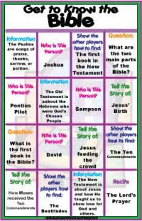 Inspirational bible verses bingo in english