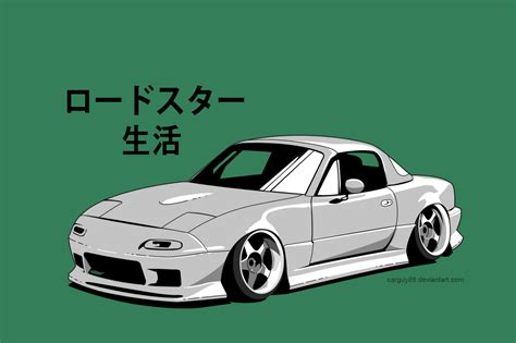 miata drawing miata doriftooo by carguy88 on deviantart