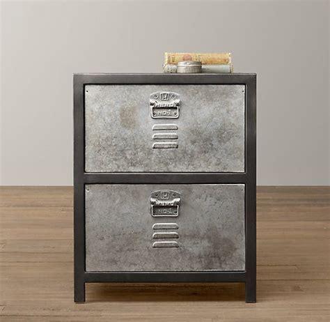 Locker Style Nightstand by Vintage Locker Nightstand Nightstands Side Tables