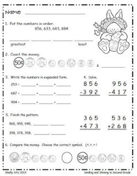 17 best images about morning work for second grade on