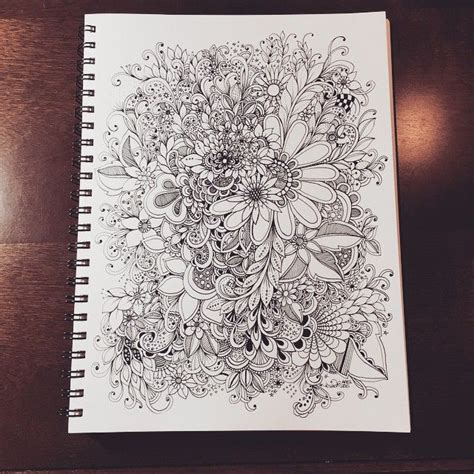 doodle flowers meaning 70 best black white images on