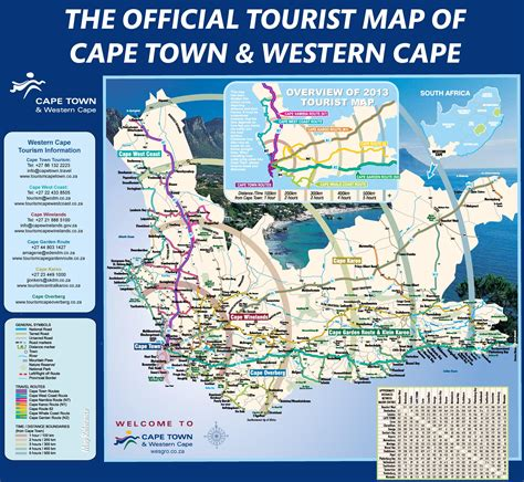 cape town south africa map cape town area map