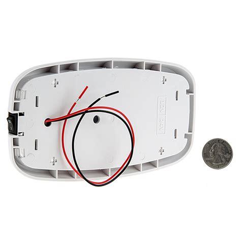 Dome Light Fixture 6 Quot Rectangular Led Dome Light Fixture W Built In Switch 15 Watt Equivalent Led Dome Light