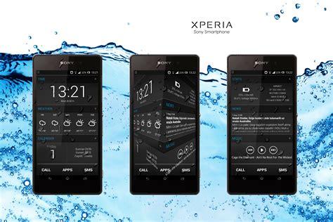 hd themes for xperia z2 custom xperia z2 theme by khorvat deviantart on deviantart