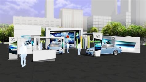 Event Design Renderings | 3d renderings for a proposed consumer drive event ann bartek