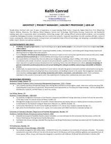 Project Architect Sle Resume by Professor Resume Sales Professor Lewesmr