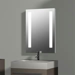 spiegel mit beleuchtung treos serie 604 spiegel mit integrierter beleuchtung 50x70cm