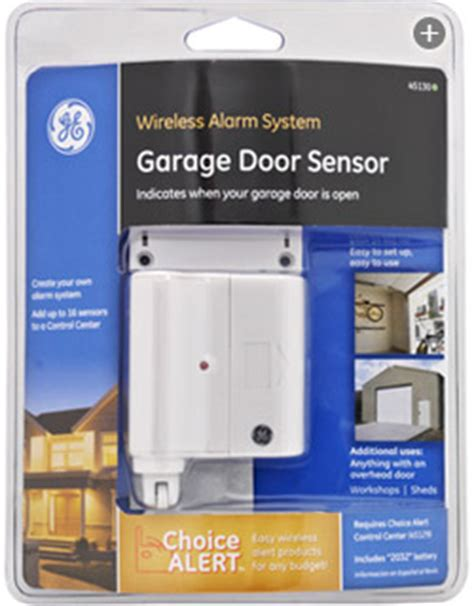 Garage Door Open Warning Ge Choice Alert Wireless Alarm System Garage Door Sensor Home Security Systems