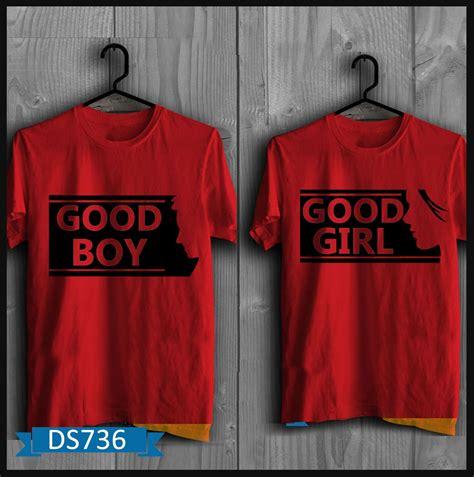 Baju Pakaian Pria Wanita Sepasang Tshirt Cotton Combed koleksi t shirt pria terbaru baju pria murah baju