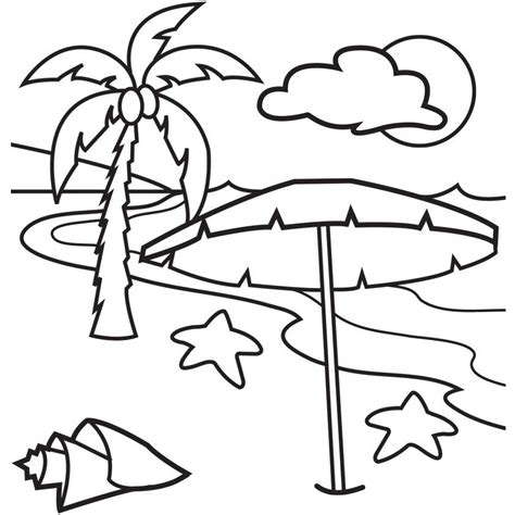 Beach Themed Coloring Pages Coloring Home Themed Coloring Pages Free