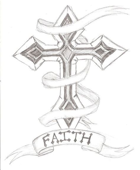 outline of cross tattoo cross outline designs cross design by the