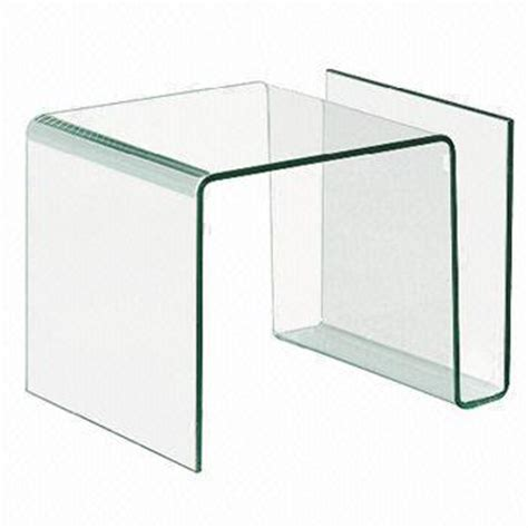contemporary glass side tables for living room bended glass coffee table modern clear glass tea table sale living room side tables jpg