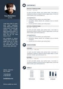 professional it resume template orienta free professional resume cv template