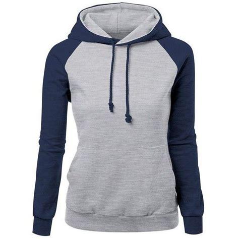 Jaket Jumper Sweater Hoodie Arema 5 trendy hit color drawstring hooded raglan pullover hoodie