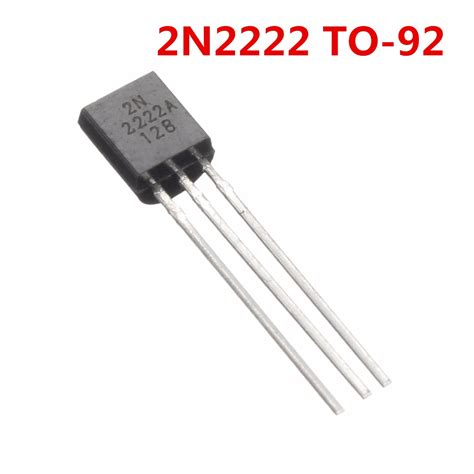 transistor npn q2n222 40v 0 8a npn transistors 2n2222a 2n2222 to 92 for high speed switching alex nld