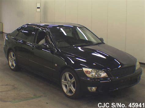 altezza car black 1999 toyota altezza black for sale stock no 45941