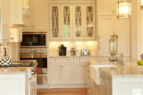 Kitchen Cabinet With Glass Glass Cabinet Doors Kitchen Farmhouse With Apron Sink Country Kitchen Beeyoutifullife