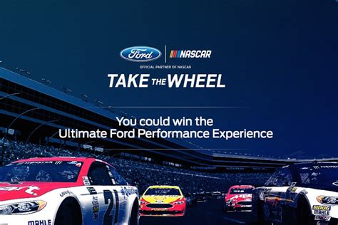 ultimate ford you could win the ultimate ford performance driving experience