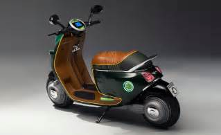 Mini Cooper Scooter Mini Unveils Electric Scooter Concept For Auto Show