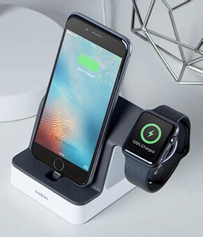 belkin powerhouse apple watch and iphone charger dock