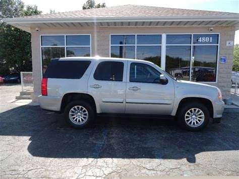gmc yukon hybrid 2008 gmc yukon hybrid for sale used cars on buysellsearch