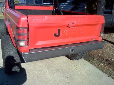 Jeep Comanche Bumper Mj Rear Bumper Nostalgia Jeep Comanche 86 92 Ares