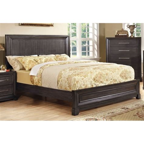 Cal King Platform Bedroom Sets by Furniture Of America Prather California King Platform Bed