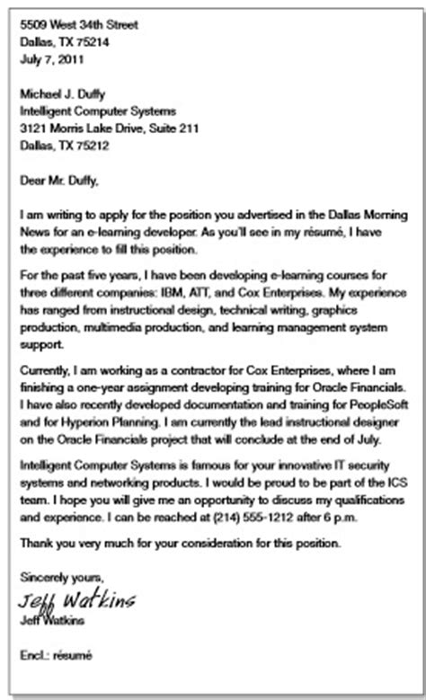 business letter format apa style sle business letter