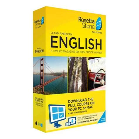 rosetta stone yearly subscription rosetta stone american english full course online