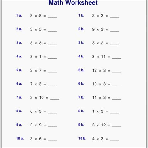 6th Grade Math Worksheets With Answer Key Pdf