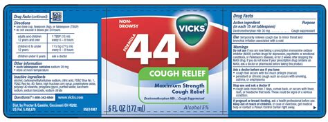 Vicks Formula 44 100ml 1 vicks 174 formula 44 cough relief