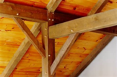 Mortise Tenon Joined Barn Timber Frame March 2010 Timber Frame Homes More
