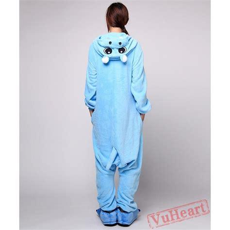 Hippo Sleepwear blue hippo kigurumi onesies pajamas costumes