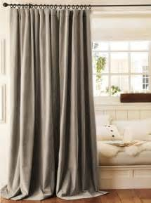 Traditional Curtains Ideas Velvet Drape Traditional Curtains By Pottery Barn