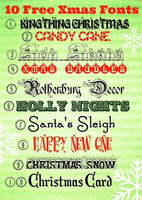 free printable fonts download free christmas fonts a free x mas printable
