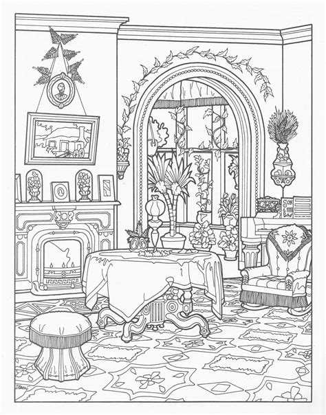 decorated house coloring pages victorian house coloring pages victorian house colour